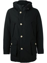 Woolrich High Neck Padded Coat Black