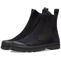 Stone Island Shadow Project Commando Chelsea Boot Blue