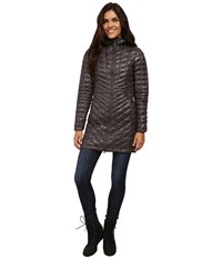 The North Face Thermoball Hooded Parka Graphite Grey Women's Coat Gray