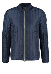 Knowledge Cotton Apparel Light Jacket Total Eclipse Dark Blue