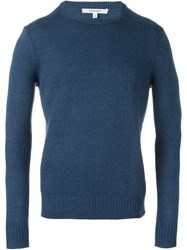 Carven Knit Sweater Blue
