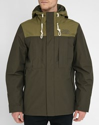 The North Face Khaki Green Himalayan Pr Lined Down Jacket