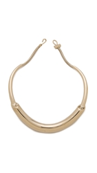 Jason Wu Lauren Necklace Light Shiny Gold