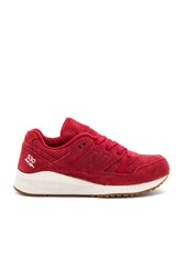 New Balance Lux Suede Sneaker Red