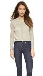 Rebecca Taylor Open Stitch Cardigan Grey