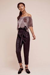 Anthropologie Bowtied Joggers Black