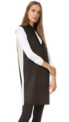 Rag And Bone Rockley Vest Black White