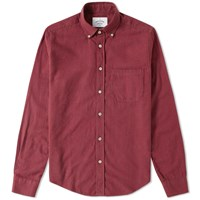 Portuguese Flannel Plaina Check Shirt Red