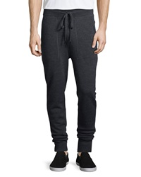 Michael Kors Merino Wool Sweatpants Charcoal