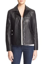 Women's Veda 'Calder' Suede And Leather Jacket