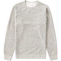 Norse Projects Ketel Double Face Crew Sweat Grey