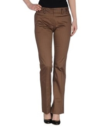 Escada Sport Casual Pants Brown
