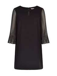 Planet Yoke Shift Tunic Black