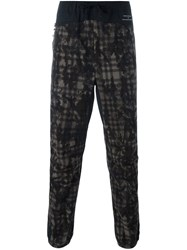 Adidas White Mountaineering Patterned Track Pants Black