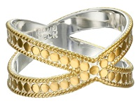 Anna Beck X Ring Sterling Silver 18K Gold Vermeil Ring