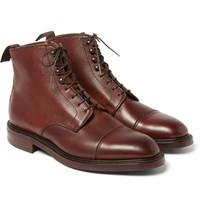 Kingsman George Cleverley Scotch Grain Leather Boots
