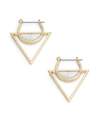 Catherine Stein Triangle Drop Earrings