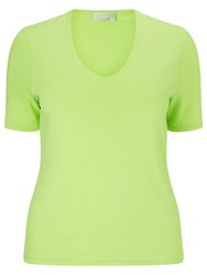 Windsmoor Basic Jersey Top Bright Green