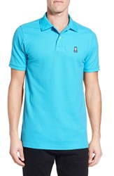 Psycho Bunny Men's Classic Pima Cotton Pique Polo
