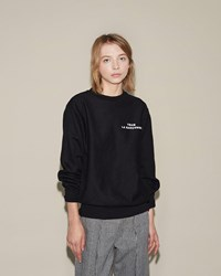 Team La Garconne Sweatshirt Black