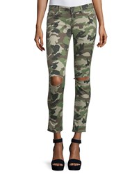 Dl Premium Denim Dl 1961 Premium Denim Emma Camouflage Distressed Skinny Jeans Warden Size 27