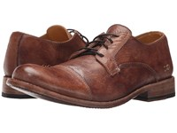 Bed Stu Genoa Teak Driftwood Leather Men's Lace Up Casual Shoes Brown
