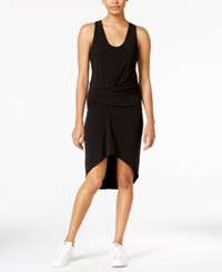 Rachel Roy Ruched High Low Dress Only At Macy's Black