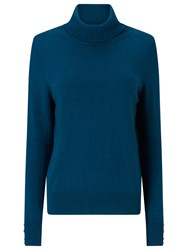 Jacques Vert Roll Neck Jumper Mid Green