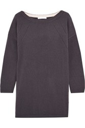Duffy Oversized Cashmere Sweater Grape