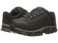 Timberland Powertrain Alloy Toe Sd Black Synthetic Women's Work Lace Up Boots