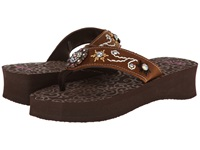 Mandf Western Cassie Brown Women's Sandals