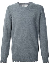 Pringle Of Scotland Distressed Jumper Grey