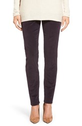 Women's Jag Jeans 'Nora' Pull On Stretch Skinny Corduroy Pants Black Orchid