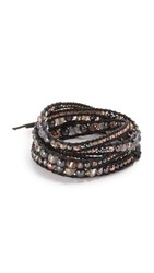 Chan Luu Wrap Around Bracelet Black Mix Black