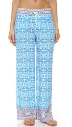 Nanette Lepore Seaside Tile Beach Pants Multi