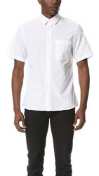 Patrik Ervell Stitchless Short Sleeve Shirt White