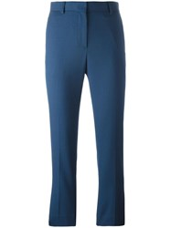 Paul Smith Cropped Trousers Blue