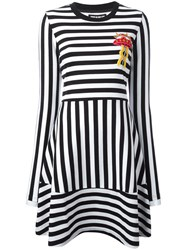 House Of Holland 'Breton' Dress Black