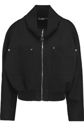 J.W.Anderson Cotton Cropped Jacket Black
