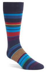 Bugatchi Men's 'Wide Stripe' Socks