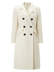 Jacques Vert Double Breasted Coat Neutral