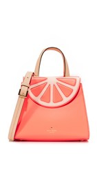 Kate Spade Grapefruit Small Adrien Bag Coral Sunset Multi
