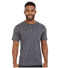 New Balance Max Speed Short Sleeve Top Heather Charcoal Men's Short Sleeve Pullover Gray