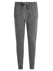 Denis Colomb Sarouel Tapered Leg Cashmere Trousers Grey