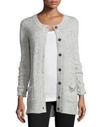 Atm Anthony Thomas Melillo Donegal Cashmere Button Front Cardigan Women's