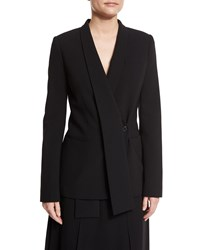 Michael Kors Shawl Collar One Button Jacket Black Women's