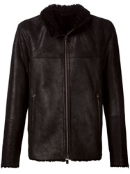 Drome Zip Front Jacket Black