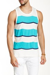 Sol Angeles Rugby Tank Blue