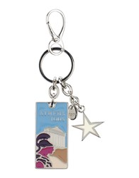 Tod's Small Leather Goods Key Rings Women Sky Blue