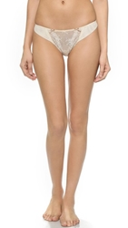 Heidi Klum Intimates Amelie Thong Retro Cream
